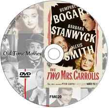 The TWO Mrs Carrolls - Barbara Stanwyck, Humphrey Bogart  Mystery film DVD 1947