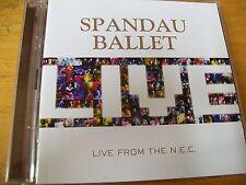 SPANDAU BALLET LIVE FROM THE N.E.C. DCD MINT- RARO