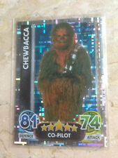 STAR WARS Force Awakens - Force Attax Trading Card #196 Chewbacca