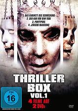 % 2 DVDs  * THRILLER BOX - VOLUME 1 # NEU OVP