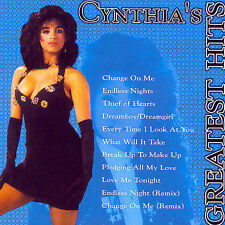 Greatest Hits by Cynthia (CD, Apr-2001, Thump Records)