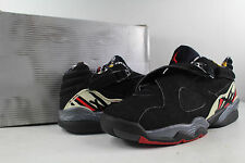 Nike Air Jordan Retro VIII Low 8 Playoff Black True Red Del Sol Size 8