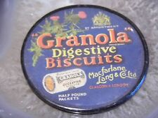 Stunning Granola Digestive Biscuits Rare Pocket Mirror Advertising (ref 784)
