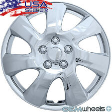 "4 NEW OEM CHROME 17"" HUB CAPS FITS KIA SUV CAR SUV COUPE CENTER WHEEL COVER SET"