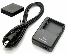 3.7v 1250mAh Battery + Charger for Panasonic Lumix DMC-LX5 DMC-LX7 DMW-BCJ13E