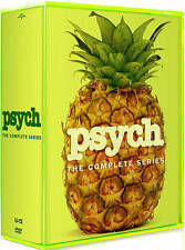 Psych: The Complete Series Seasons 1-8 (DVD, 31-Disc Box Set) *Brand New Sealed*