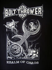 BOLT THROWER - 2014 Realm Of Chaos Shirt M Napalm Death Unleashed Morgoth