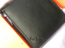 Brand New Pierre Cardin Mens Genuine Nappa Leather Wallet 8 Card 2 Note Sleeve