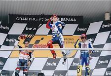 Jorge Lorenzo SIGNED MotoGP Autograph YAMAHA 12x8 Photo Spanish Jerez AFTAL COA