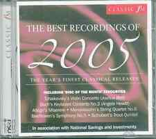 BEST RECORDINGS OF 2005 - CLASSIC FM CD: JOSHUA BELL, RICHARD HICKOX ETC