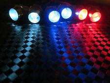 RC LED Light Kit,2 WHITE 2 RED 2 BLUE 5mm REVO TRAXXAS HPI SC10 Revo LEDRC-06