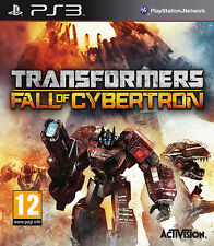 Transformers Fall of Cybertron ~ PS3 (in Great Condition)
