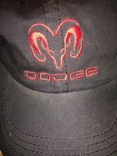 DODGE Grab Life by The Horns HAT CAP Truck Black Red Adjustable Strap Gupton