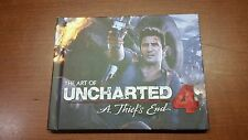 Uncharted 4 A Thief's End Collector's Edition Art Book ONLY (EY-72)