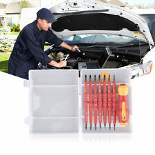 7Pcs Electrician's Insulated Electrical Double Head Hand Screwdriver Tools HV