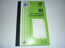 Olympic Tax Invoice & Statement copymate carbonless 50 leaf Triplicate No.725