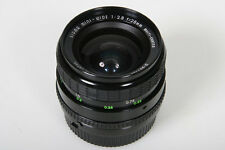Sigma Mini Wide 28mm f2.8 lens * Nikon AIS Mount