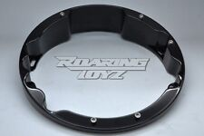 HARLEY DAVIDSON BLACK RAKED HEADLIGHT BEZEL FOR STREET GLIDE ELECTRA ROAD KING
