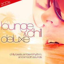 CD lounge and Chill Deluxe de various artists 2cds