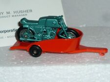 Matchbox  MB 38 C Honda Motor Cycle and Trailer 1967