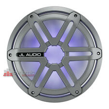 JL AUDIO SGR-MX10-SG-TLD-B-RP Titanuim Sport Grille w/LED for MX10IB3 with LED
