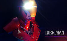 Iron Man Mk3 Mark3 1/1  Bust Custom resin-statue- finish-NEW-LED