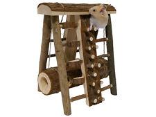 NUOVO palissandro Piccoli Animali Domestici Animali Criceto Topi attività in legno giocattolo corso d'assalto