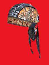 2016 Sturgis Motorcycle Rally #1 Design Indian Storm Headwrap cap hat