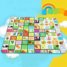 Safe Puzzle Mat Learning ABC Alphabet Study Kids Letters Floor Play Climbing Mat