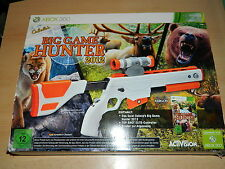 Xbox 360-Big Game Hunter 2012-jeu incl. fusil-excellent état