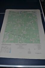 1940's Army topographic map Fine Creek Mills Virginia -Sheet 5459 III SE