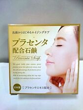 face soap  Moisturizing formula placenta extract combination  Made in Japan.