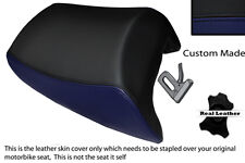 BLACK & NAVY BLUE CUSTOM FITS SUZUKI GSF 1250 07-12 BANDIT REAR SEAT COVER