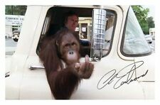 CLINT EASTWOOD - EVERY WHICH WAY BUT LOOSE AUTOGRAPHED SIGNED A4 PP POSTER PHOTO