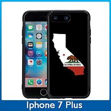 California State Outline For Iphone 7 Plus (5.5) Case Cover By Atomic Market