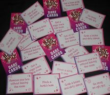 HEN PARTY / GIRLS NIGHT OUT - DARE CARDS NAUGHTY GAME PACK OF 24 CARDS