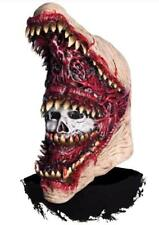 Toothful Mask Monster Scary Fancy Dress Up Halloween Adult Costume Accessory