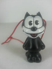 "Vintage 1983 Felix the Cat Plastic Pen Topper on String Toy 2 1/4"" tall"
