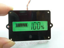 Digital LCD Indicator Battery Capacity Tester für 12V-48V Lead-acid Lithium LiPo