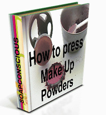 How to Press Mineral Make Up Powders.Press Your Own EyeShadow Foundation Bronzer