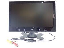 """MONITOR 9""""POLLICI 2 INGRESSI VIDEO LCD TOUCH BUTTON TFT"""