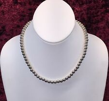 Silpada Sterling Silver 6mm Ball Bead Necklace N1100