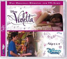 Disney´s Violetta - Folge 3 & 4 - CD - Hörbuch / Hörspiel - *NEU*