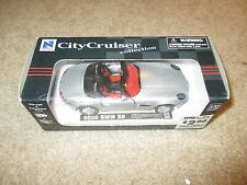 New Ray City Cruiser 1:32 Scale 2000 BMW Z8 Silver MIB 2001 See My Store