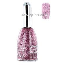 La Femme Nail Polish - Bubblegum 94 15ml Pink & Silver Glitter