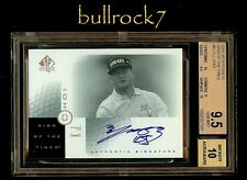 2001 SP Authentic Golf Sign of the Times SOTT Auto K.J. CHOI  BGS 9.5 #1292