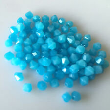 Free shipping 100-1000pcs exquisite Crystal 4mm 5301#Bicone Beads YOU Pick color
