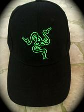 Razer THS ADJUSTABLE Cap~BLACK~1 SIZE FITS ALL...ORIGINAL AUTHENTIC~RAZER GEAR