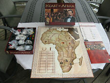 Heart of Africa  Board Game By Phalanx 2004 - Complete