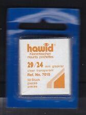 hawid 7015   50 Zuschnitte 29x24 mm glasklar